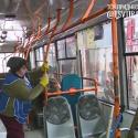 Вирус не пройдёт: как дезинфицируют троллейбусы и маршрутки Тирасполя (ВИДЕО)