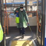 Коронавирус в Кишинёве: полиция обходит все конечные остановки общественного транспорта (ВИДЕО)