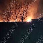 В Слободзее пожарные потушили горящий камыш (ФОТО)
