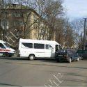 Маршрутка с пассажирами попала в ДТП в Тирасполе