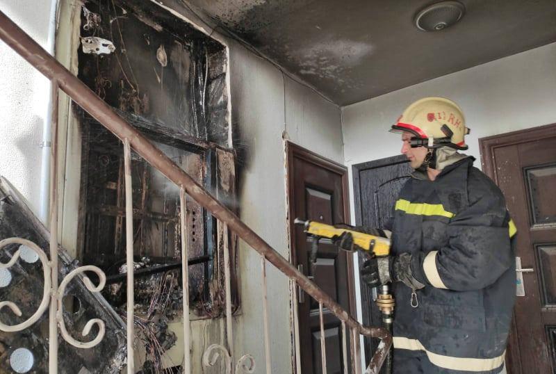 В Дурлештах из-за загоревшегося счётчика эвакуировали жильцов подъезда (ФОТО)