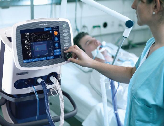 Количество аппаратов искусственной вентиляции легких: как обстоит ситуация в Молдове и в других странах