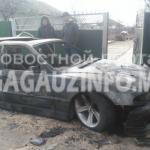 В Конгазе сгорел припаркованный у дома автомобиль (ФОТО)