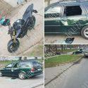 Вылетел в кювет и задел авто: мотоциклист попал в ДТП в Тирасполе