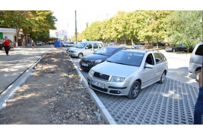 Примария запретила парковку автомобилей на некоторых улицах в центре города