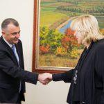 Премьер обсудил реализуемые в РМ национальные проекты с комиссаром Совета Европы