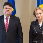 Гречаный провела встречу с послом Беларуси в Молдове
