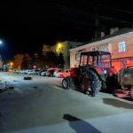 Авария в Кагуле: мотоциклист попал в больницу после столкновения с трактором (ФОТО)