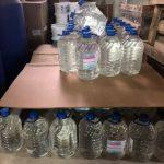 Пытались наживиться на коронавирусе: полиция задержала нелегальных продавцов дезинфектантов и масок (ФОТО)