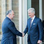 Президент пригласил инвесторов из Бельгии к участию в масштабных инфраструктурных проектах в Молдове (ФОТО, ВИДЕО)