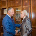 Президент поздравил Евгения Догу с днем рождения
