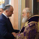 Патриарх Кирилл благословил президента и молдавский народ на добрые начинания