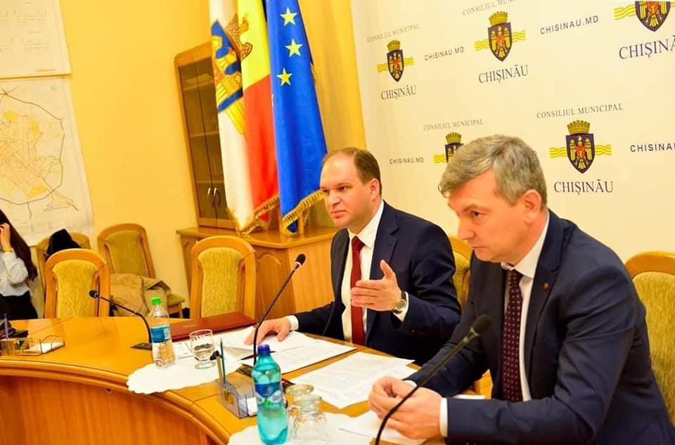 Мунсовет одобрил получение помощи от Бухареста для разработки генплана Кишинёва