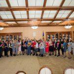 Глава государства поздравил сотрудниц Аппарата Президента с наступающим 8 Марта (ФОТО)