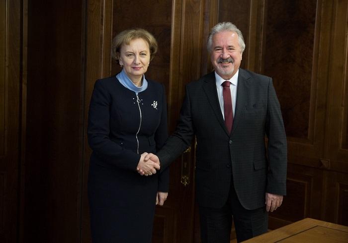 Гречаный провела встречу с послом Турции в Молдове (ФОТО)