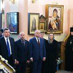 По приглашению Патриарха Кирилла Игорь Додон принял участие в божественной литургии в Покровском женском монастыре в Москве (ФОТО, ВИДЕО)