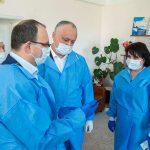 Президент проинспектировал Больницу железнодорожников, которую готовят к приему возможных пациентов с подозрением на коронавирус (ФОТО, ВИДЕО)