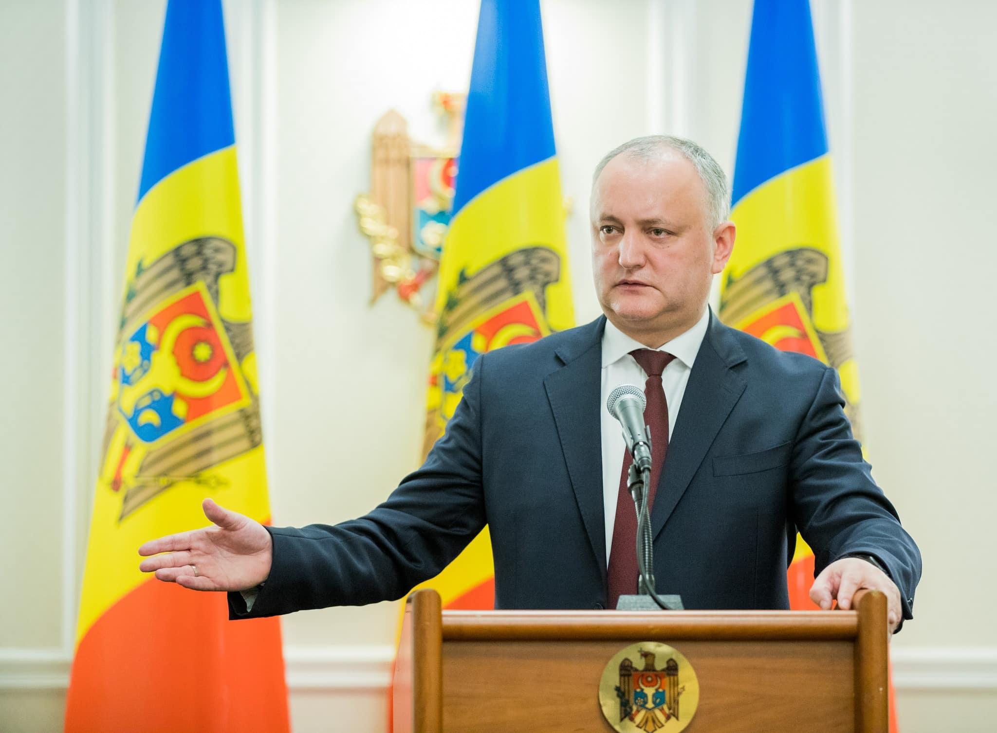 Игорь Додон ответит в прямом эфире на вопросы граждан о ситуации с коронавирусом (ВИДЕО)