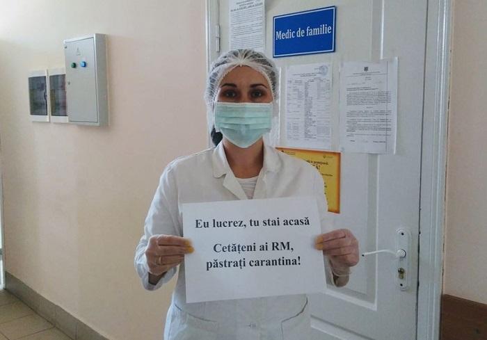 """""""Я работаю, а ты оставайся дома"""". Врачи призывают граждан Молдовы соблюдать карантинный режим"""