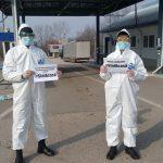 Более 2 тысяч эпидемиологических анкет было заполнено на границе за последние сутки