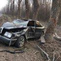 ДТП на трассе: водитель не справился с управлением и влетел в дерево
