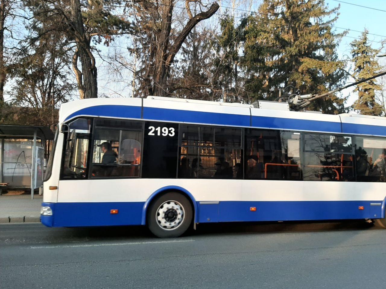 Проезд в общественном транспорте Кишинева будет бесплатным до 10 апреля