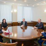 Президент наградил посла Беларуси в Молдове Орденом Почёта (ФОТО, ВИДЕО)