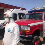 Спасатели продолжают информировать население о мерах профилактики коронавируса (ВИДЕО)
