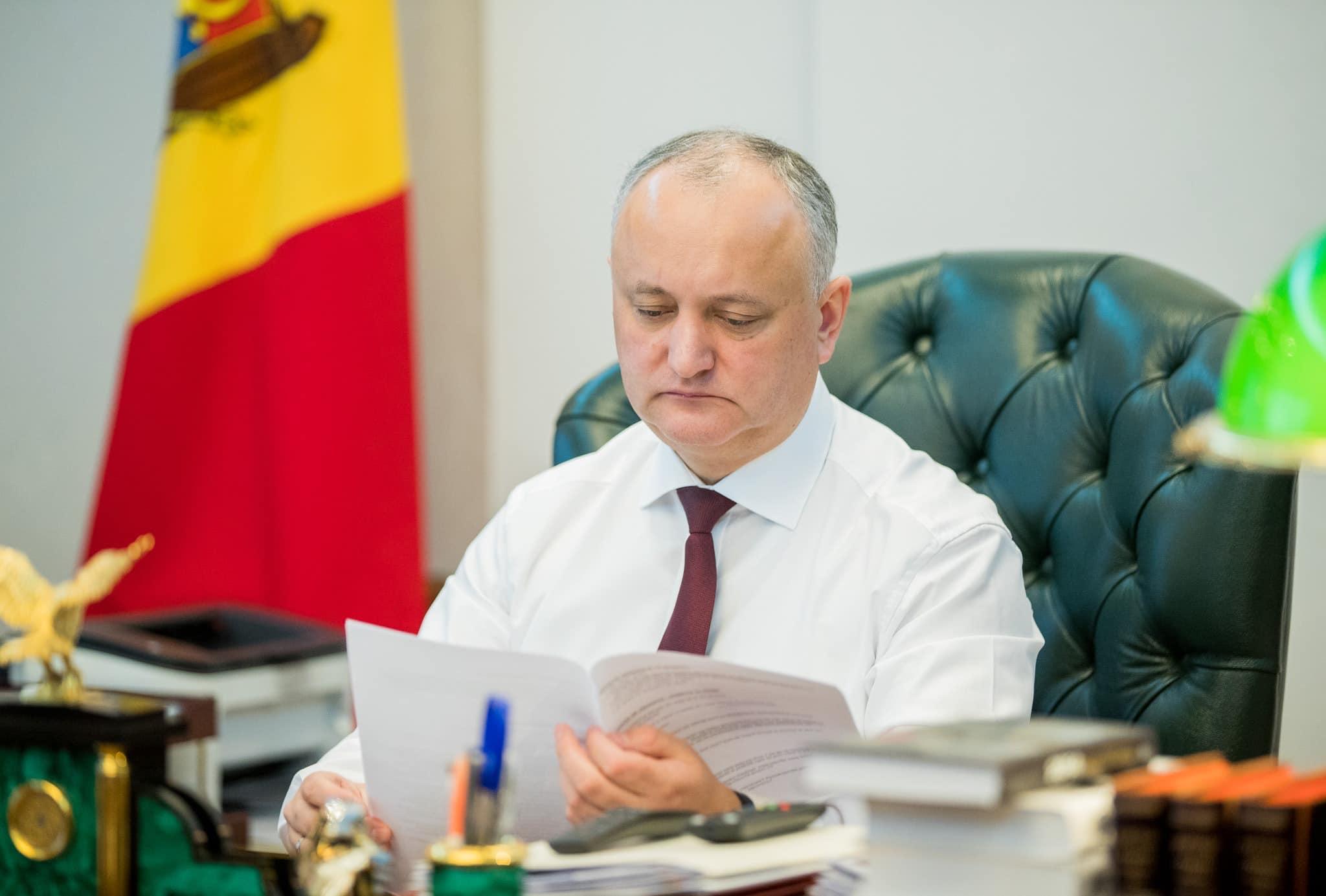 Аппарат президента сократил расходы на 3,5 млн. леев. Додон призывает к этому все госучреждения