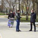 Чебан проинспектировал сквер на улице Букурией, где заканчиваются работы по реконструкции (ФОТО)