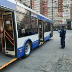 Профилактика коронавируса: полиция тщательно проверяет городской транспорт (ФОТО)