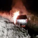 В Унгенах пьяный водитель вылетел в кювет и едва не сгорел