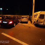 Минимум четыре машины получили технические повреждения в результате аварии на Чеканах (ФОТО)