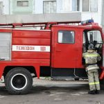 Пожар на заводе в Тирасполе: сгорели три автомобиля