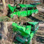 Семья попала в аварию в Тирасполе. Пострадал водитель