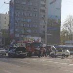 ДТП на Ботанике: два пассажира пострадали из-за невнимательного водителя (ФОТО)