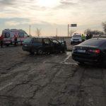 """ДТП в Кагуле: машины """"всмятку"""", двое в больнице (ФОТО)"""