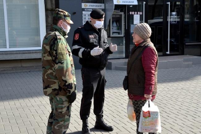 Военные, полицейские и карабинеры следят за соблюдением ограничений в период ЧП во всех районах страны (ФОТО, ВИДЕО)
