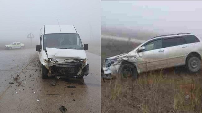 В Ниспоренах произошла серьёзная авария: пострадал пассажир