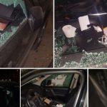 На Ботанике воры разбили окно машины и ограбили ее (ФОТО)