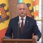 Додон призвал кишиневцев к ответственности: Мы не хотим закрывать столицу на карантин! (ВИДЕО)