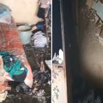 Пьяные супруги устроили пожар в многоэтажке. Спасатели эвакуировали жильцов (ВИДЕО)