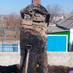 В Григориополе сильный пожар уничтожил крышу дома (ФОТО)