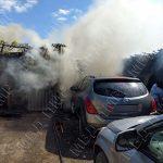 Детская шалость со спичками привела к крупному пожару в Бендерах (ФОТО)