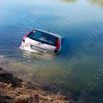"""""""Улов"""" приднестровских спасателей – машина рыбака: в Днестре утонул Nissan (ВИДЕО)"""