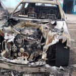 В Бельцах ночью сгорели сразу 3 автомобиля: предполагается поджог (ФОТО)