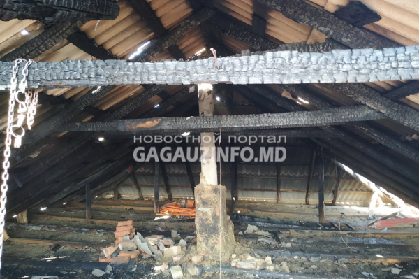 Три крупных пожара произошли в Гагаузии за последние две недели (ФОТО)