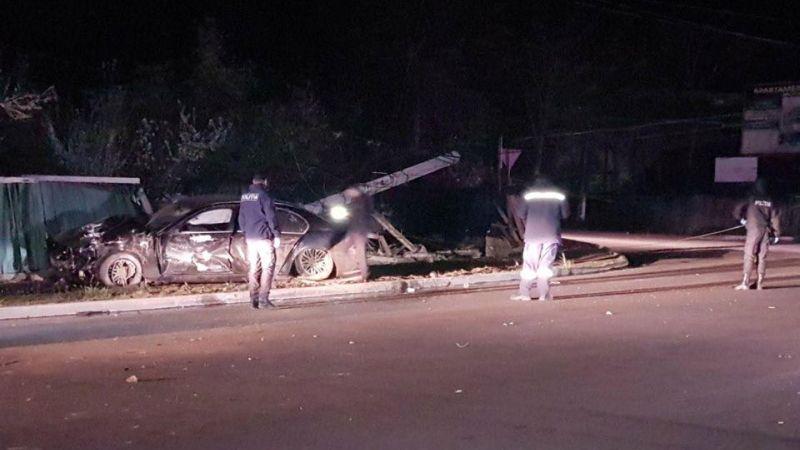 Высокая скорость стала причиной ДТП в Кагуле: автомобиль разбился в «хлам», один человек пострадал