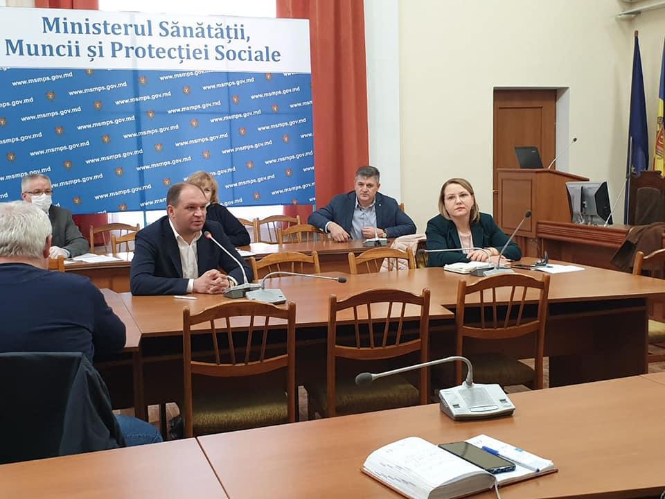Коронавирус: примария Кишинева и Минздрав создадут рабочую группу для координирования действий (ФОТО)