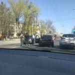Три авто стали участниками цепного ДТП на Рышкановке (ФОТО)